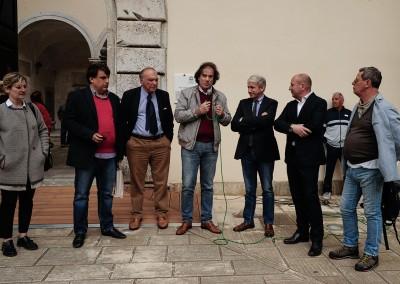 Inaugurazione della XVII edizione con l 'Assessore all' Agricoltura della regione Toscana Marco Remaschi