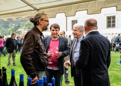 L'Assessore all' Agricoltura della Regione Toscana Marco Remaschi al Villaggio del Vino